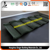 Best Quality Roman Stone Coated Roof Tile, 0.4mm Sheet Metal Roofing Tiles