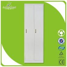 Cheap Usage 2 Door Steel Wardrobe Cabinet