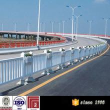 galvanized road safety barrier