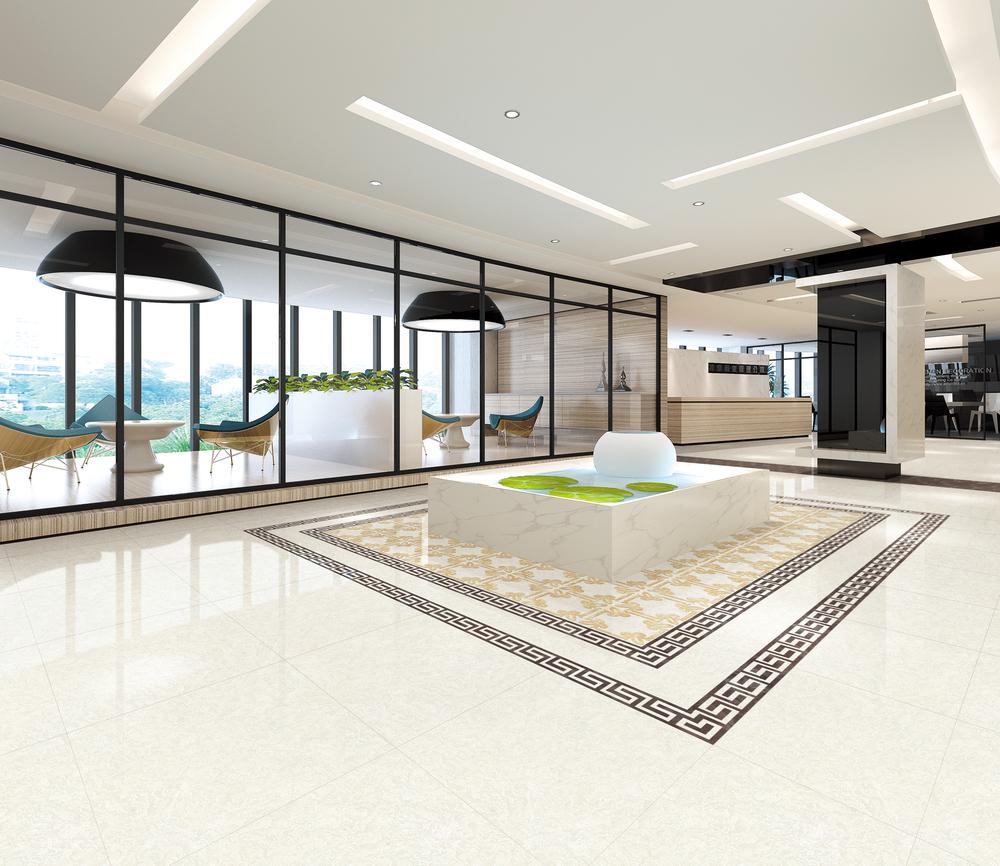 High Quality Non Slip White Horse Kitchen Floor Tile Samples Buy