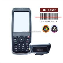 Wins mobile 6.5 OS 3.2inch Handheld Laser Barcode Scanner