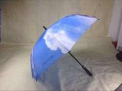 Double canopy gold umbrella reverse umbrella for promotional