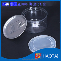 High quality plastic jars candy jar food packing cans