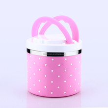round metal arniss collapsible lunch box