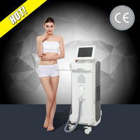 Brazilian human hair 808 nm laser sugaring hair removal with three work modes