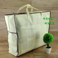 small clear polythens pvc nonwoven waterproof plastic seal bedsheet bag