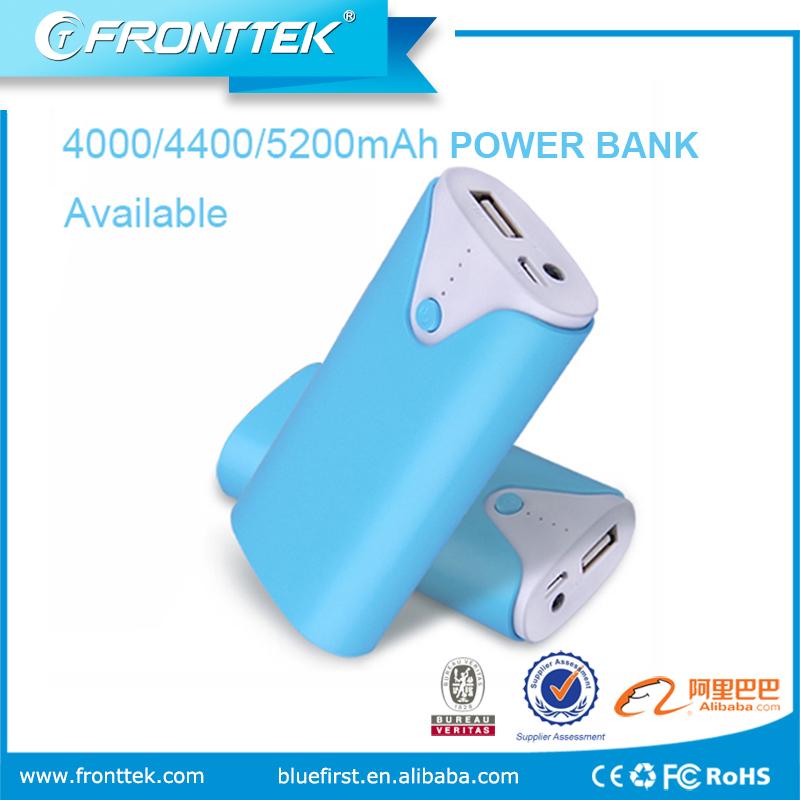 portable 5200mah battery mobile power bank
