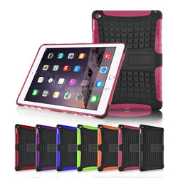 Shockproof Hybrid Dual Heavy Duty With Stand Function Case Cover for Apple iPad Air 2