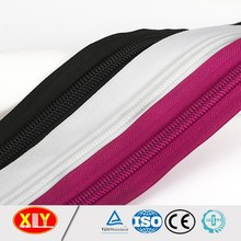 zipper factory long chain nylon continuous zipper