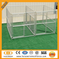 2015 hot for USA market iron fence dog kennel