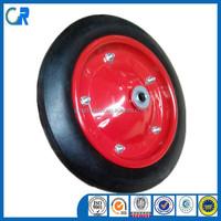 heavy duty 12 inch solid rubber wheels