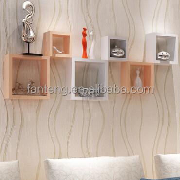 woonkamer vierkante wandplank, wanddecoratie plank, gekleurde ...