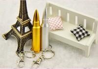 Hot!! Waterproof Metal Bullet USB Flash Drives Real capacity 16G 32G USB Memory Pen Drive 64G Pen/Thumb