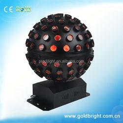 fr invention for party Mini Rotating LED RGB Crystal Magic Ball Effect Light EU Plug