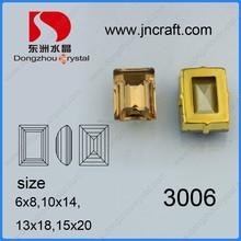 Colorful fancy rectangle 13*18mm light peach diamond