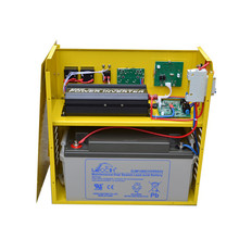 2015 new and hot portable solar system power with battery