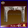 Classic Carved Fireplace Mantel With Human Face