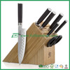 fascinating bamboo wooden knife rest/ block, stand knives