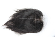 indian remy human hair toupee wigs for black for men