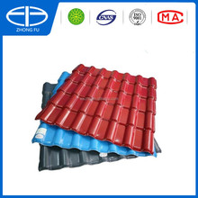 New building material synthetic resin terracotta tile/PVC roof tile