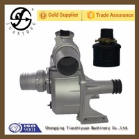 Water pump with pulley for single phase water pump motor yam break detector