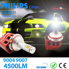 Qeedon trustworthy 24w h1 led headlight 2500lm brighter all in one h4 h13 9004 9007
