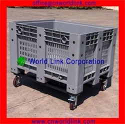 Storage Wire Mesh Stackable Plastic Warehouse Pallet Container