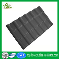 pure black color lasting decorative golden color roofing tile for house
