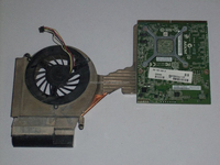 Wholesale 8740w 1 GB Nvidia Laptop Video Card Graphic Card With Heatsink 597571-001