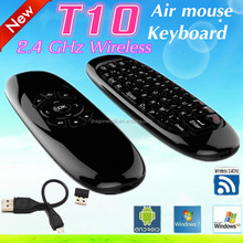 Bluetooth 2.4G wireless Keyboard Air Mouse Air Mouse T10