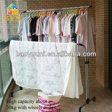 sc byn suspensión de ropa secador de ropa de metal estante de la ropa