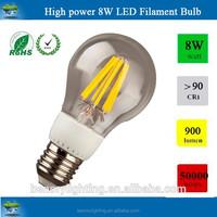 europe market cUL csa etlc approved led filament bulb 360 degree led bulbs E27 E14 B22 bulb.