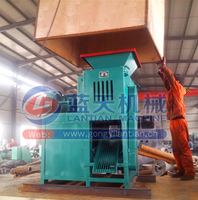 Loaded in free fumigation wood case export overseas egg shape ball press machine