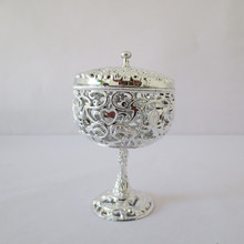 Festive supplies hollow out pattern goblet furnishing articles