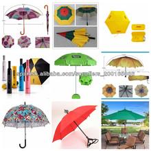 Promocional paraguas sombrilla al aire libre, sombrillas parasol al por mayor, sol jardín paraguas parasol