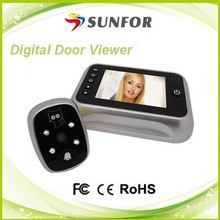 top selling products in alibaba best quality 3.5 ' lcd peephole door camera digital door viewers