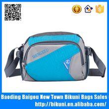 Wholesales online blue nylon messenger bag cross body bag