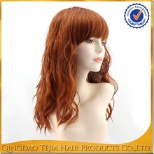New Fashion Style Top Grade Synthetic hair wet and wavy hair wig