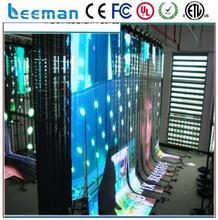 high transparent flexible led curtain creative led video curtain