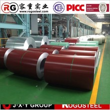 0.12-0.8mm galvanized steel coil all color as buyers request
