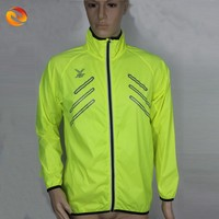 2015 Fashion mens sports wear Fluorescent color wind coat men