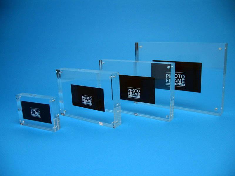 high quality acrylic photofunia photo frame/love funia frame photo/ picture photo frame