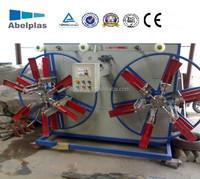 corrugated pipe coil winding machine