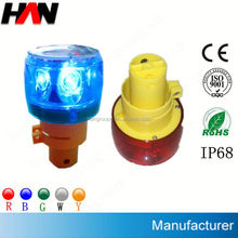 Rechargeable LED Flashing Warning Light ( Used in Ships,Boats,Yacht,Buoys,Mining Truck Roads,Airport etc)