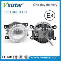 12v&24v daylight guide technology cre e led daytime running light with fog lamp led for all car use