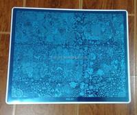 100% brand-new XXL big flower design Template Nail Art stamping Plates XXL-01