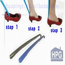 Long Handled Plastic Home &Hotel Shoe Horn