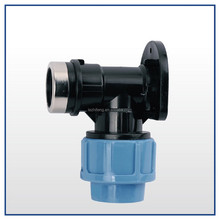Socket Connector Pipe Fitting Compress Female Thread Elbow W/Disk
