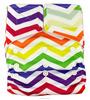 Baby products reusable custom velcro cloth diaper with fleece