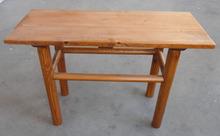 Madera natural de madera antigua mesa LWD244